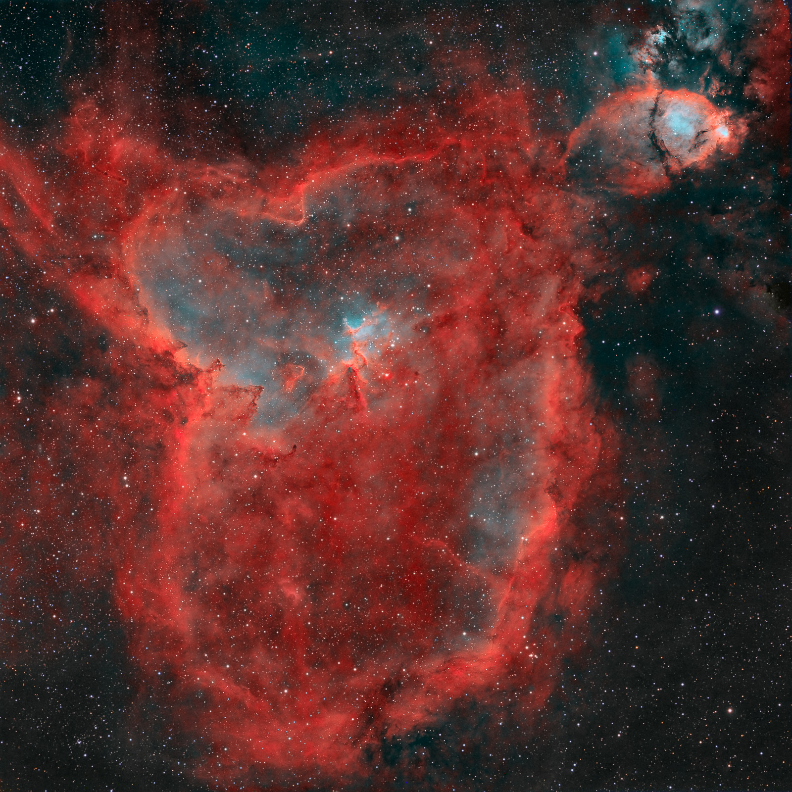 IC 1805: A Heart Nebula Collection - Starship Asterisk*